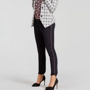 CAbi Peyton Ribbon Black Pants 5313